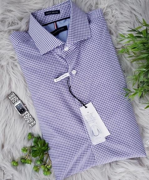 9b2174d8 Tommy Hilfiger Shirts | Soft Touch Slim Fit Noniron Shirt | Poshmark